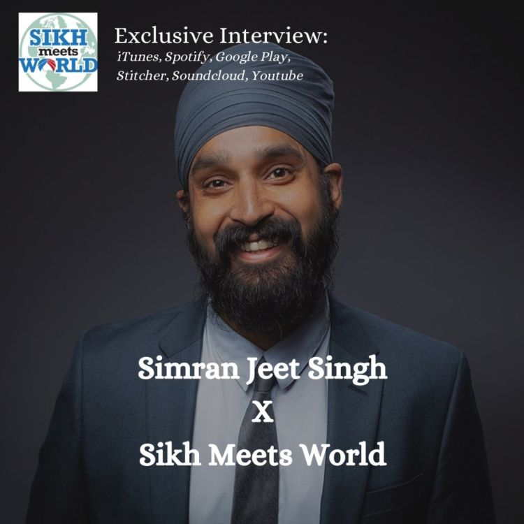 cover art for Simran Jeet Singh, Professor, Author, and Activist