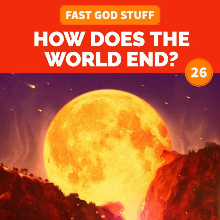 cover art for How Does the World End?