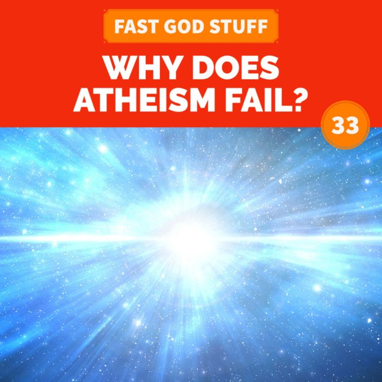 cover art for Why Does Atheism Fail?