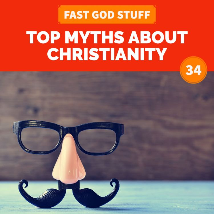 cover art for Top Myths About Christianity