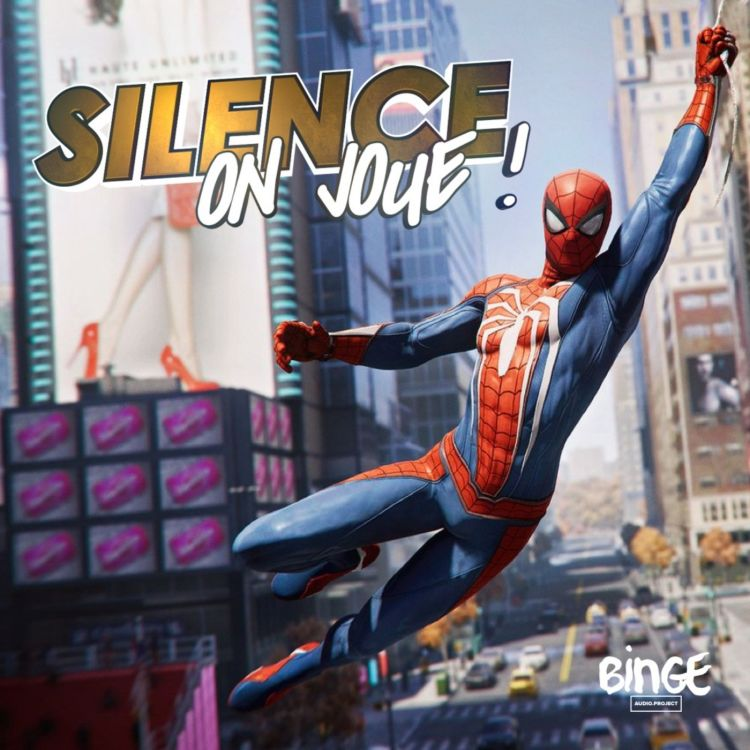 cover art for Silence on joue !  «Spider-Man», «The Messenger», «We Happy Few», «Night Trap»