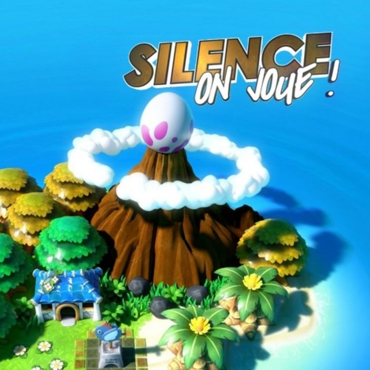 cover art for Silence on joue ! «Zelda : Link's Awakening», «Astral Chain», «Untitled Goose Game»