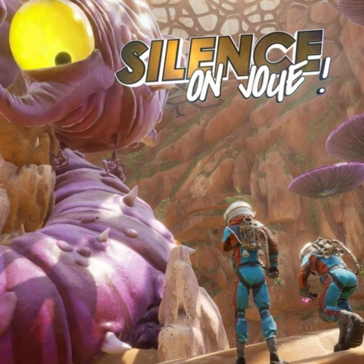 cover art for Silence on joue ! «Journey to the Savage Planet», «LooK INside», «Bookbound Brigade»
