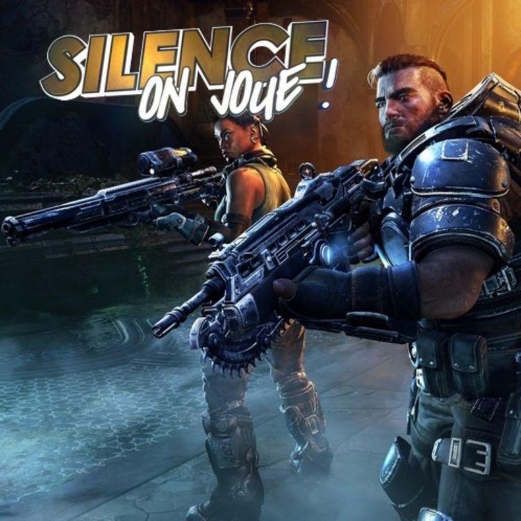cover art for Silence on joue ! «Gears Tactics», «CloudPunk», «Stela»
