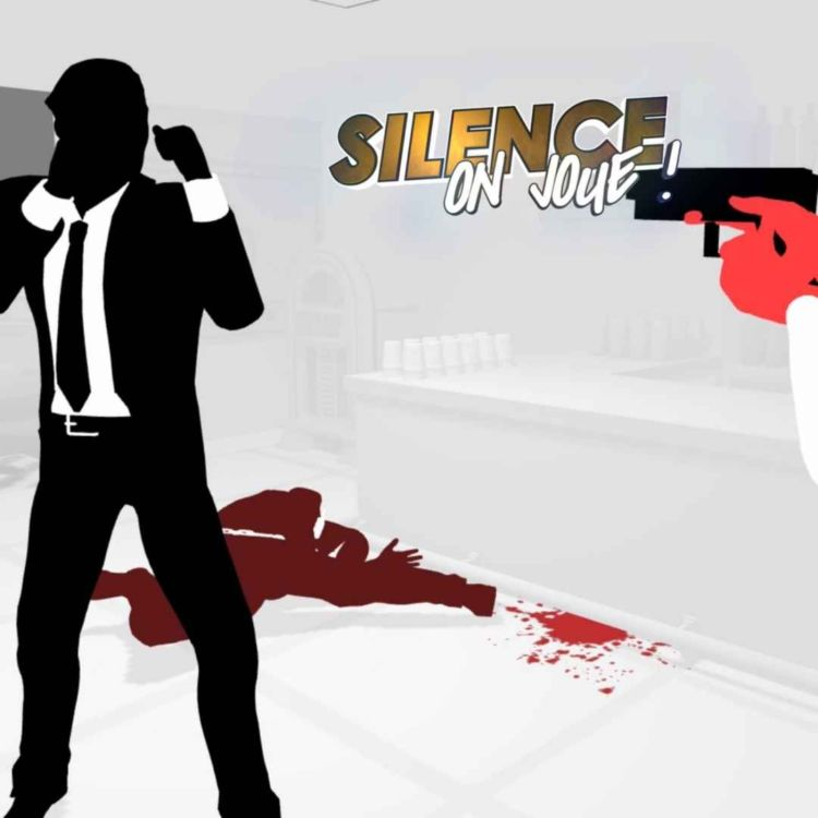 cover art for Silence on joue ! «Rhythm Doctor», «Curse of the Dead Gods», «Fights in Tight Spaces», «Maquette»