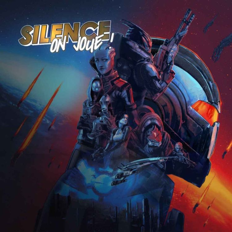 cover art for Silence on joue ! «Mass Effect», «Subnautica : Below Zero», «Mind Scanners»