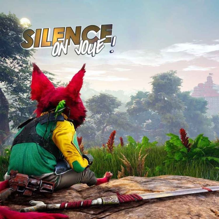 cover art for Silence on joue ! «Biomutant», «Famicom Detective Club», «Knockout City»