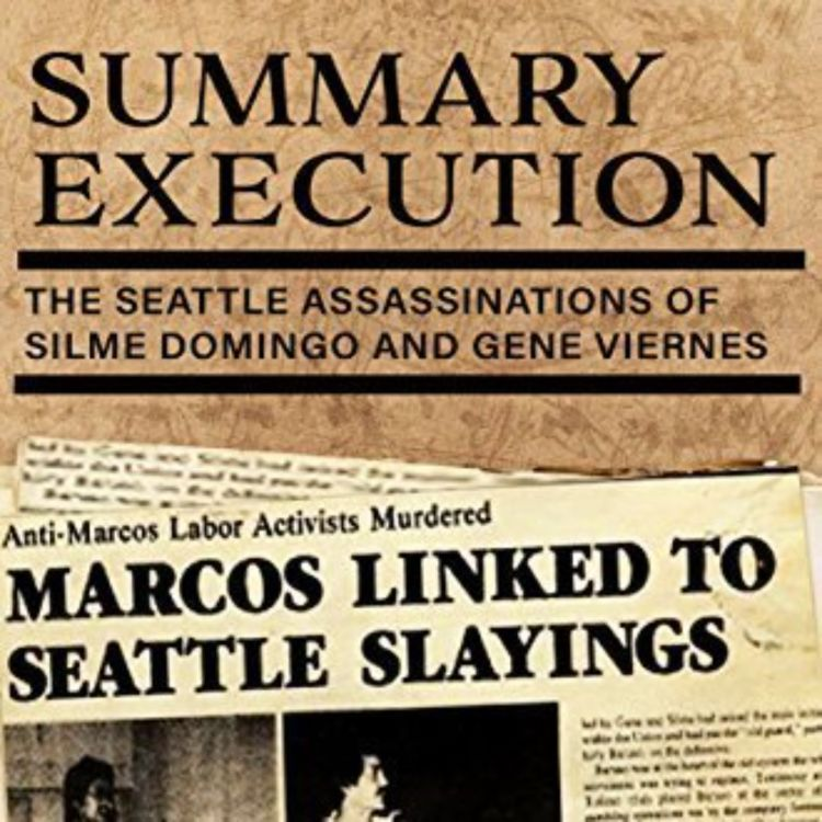 cover art for Summary Execution: The Seattle Assassinations of Silme Domingo and Gene Viernes