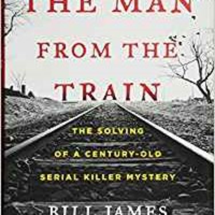 cover art for MAN ON THE TRAIN - BILL JAMES