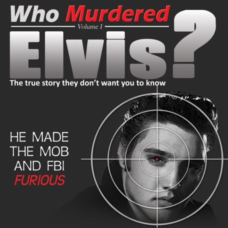 cover art for WHO MURDERED ELVIS? Steve Ubaney