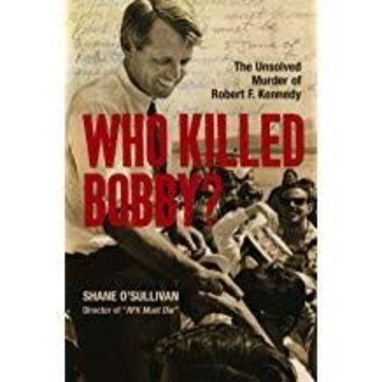cover art for WHO KILLED BOBBY - SHANE O'SULLIVAN