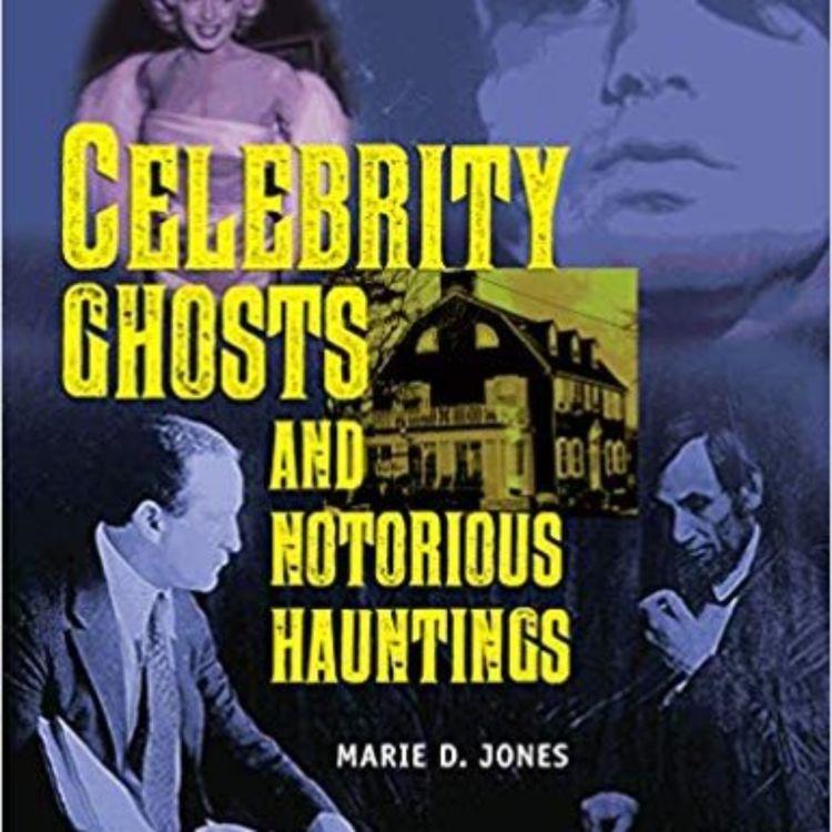 cover art for CELEBRITY GHOSTS - MARIE D. JONES