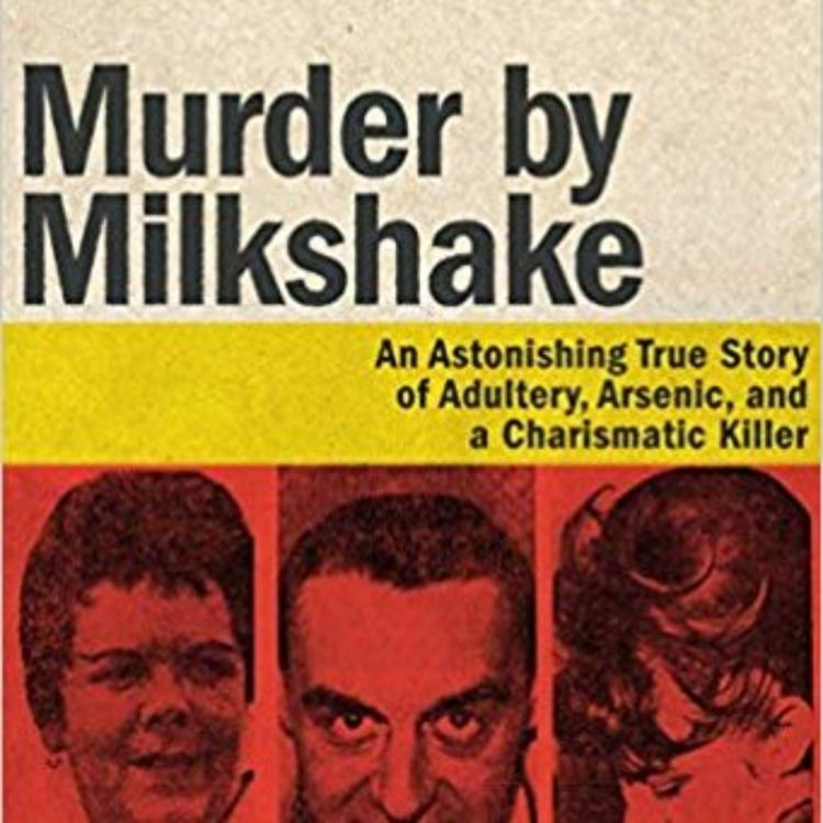 cover art for MURDER BY MILKSHAKE - EVE LAZARUS