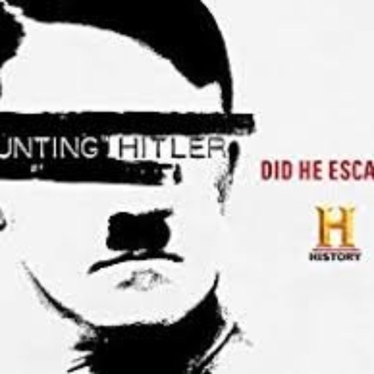 cover art for HUNTING HITLER - GERRARD WILLIAMS ENCORE 2014