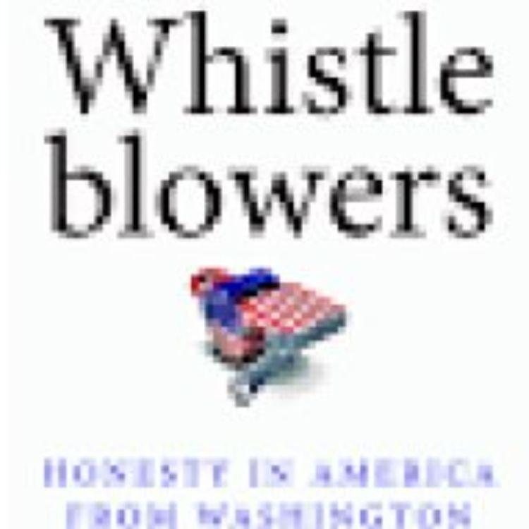 cover art for WHISTLEBLOWERS - DR ALLISON STANGER