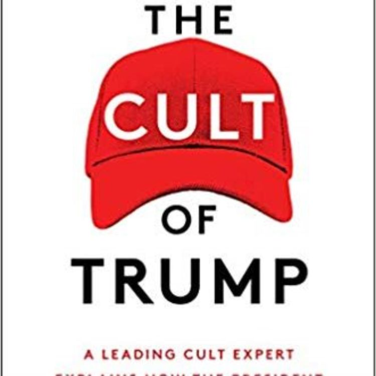 cover art for THE TRUMP CULT - STEVEN HASSAN