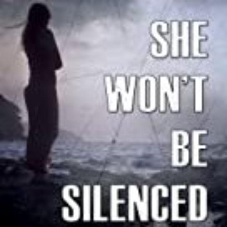 cover art for  SHE WONT BE SILENCED - lisa freeman