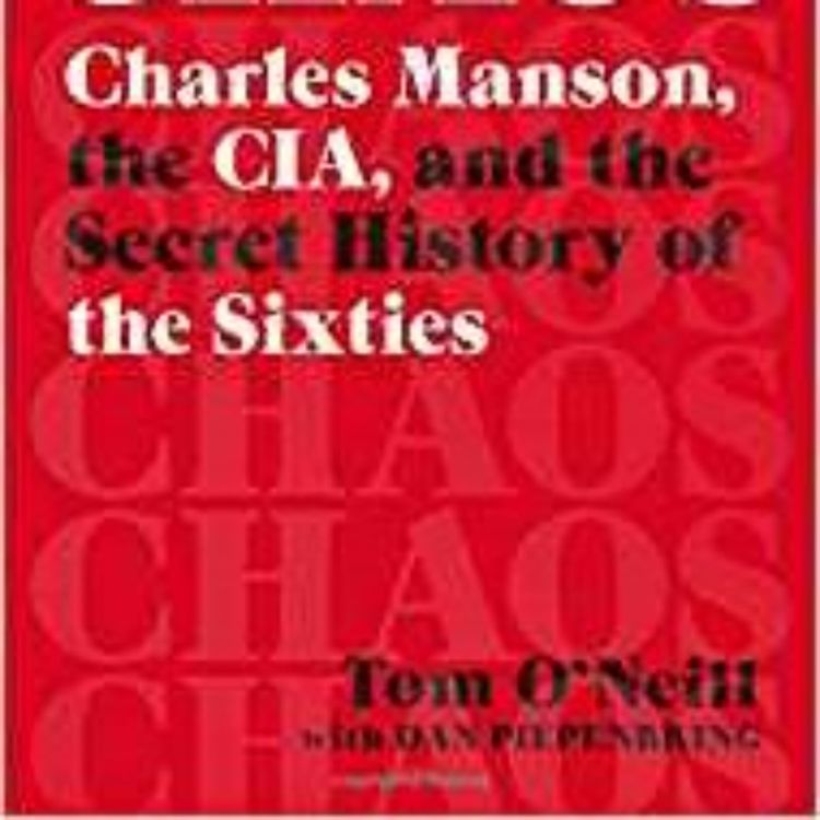 cover art for TOM O'NEILL - CHAOS - CHARLES MANSON