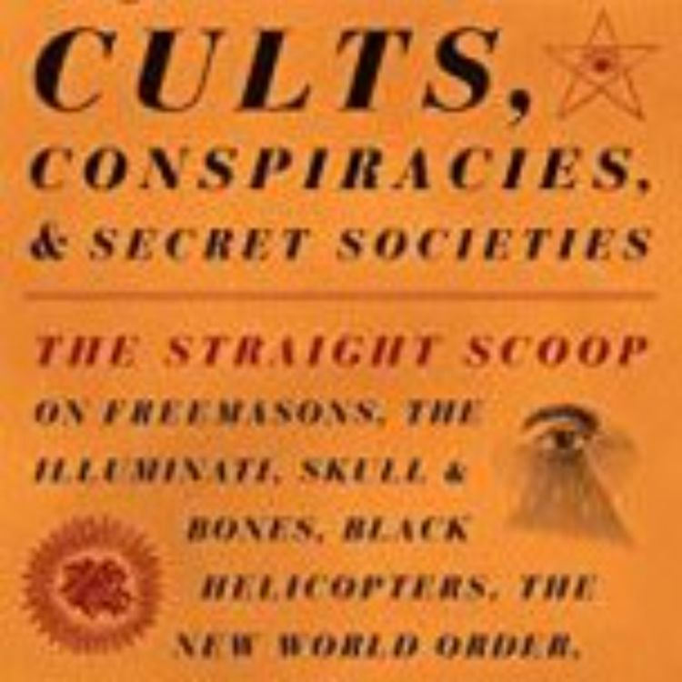 cover art for ARTHUR GOLDWAG - CULTS & CONSPIRACIES