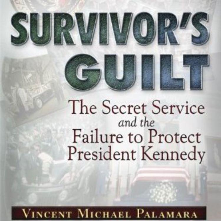 cover art for VINCE PALAMARA - SURVIVOR'S GUILT (JFK ASSASSINATION SERIES)