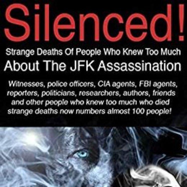 cover art for RALPH THOMAS - SILENCED! STRANGE DEATHS  (JFK ASSASSINATION SERIES 2)