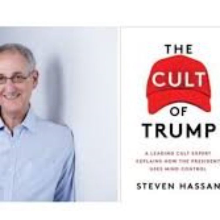 cover art for CULT OF TRUMP - STEVE HASSAN