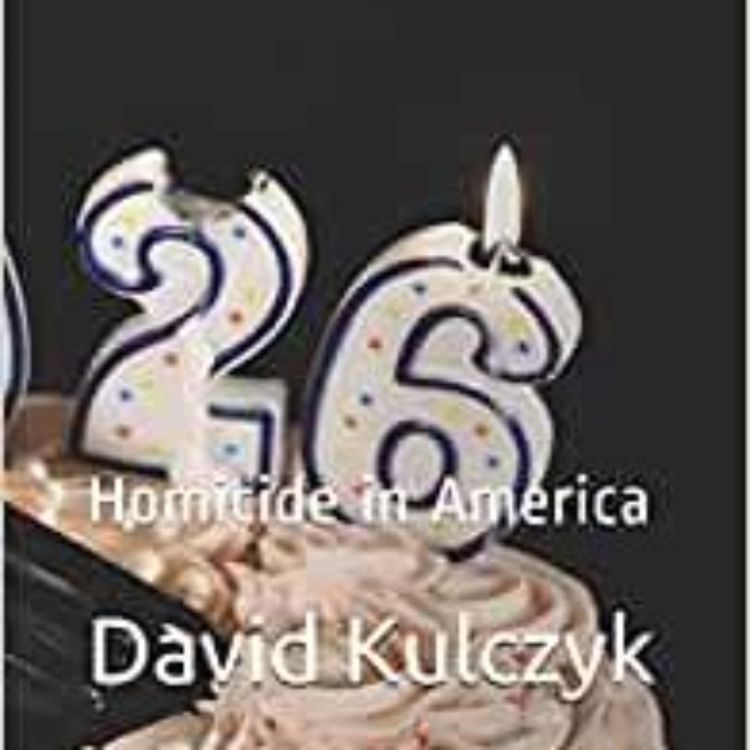 cover art for DAVID KULCZYK - 1926 HOMICIDE IN AMERICA