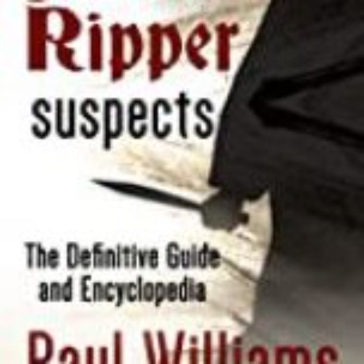 cover art for RIPPER SUSPECTS - PAUL WILLIAMS