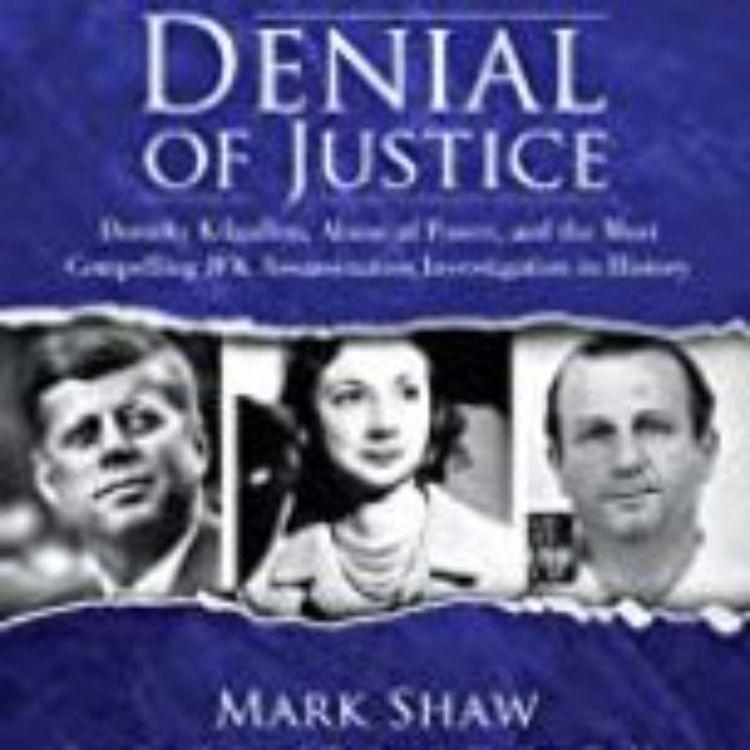 cover art for MARK SHAW - DENIAL OF JUSTICE DOROTHY KILGALLEN