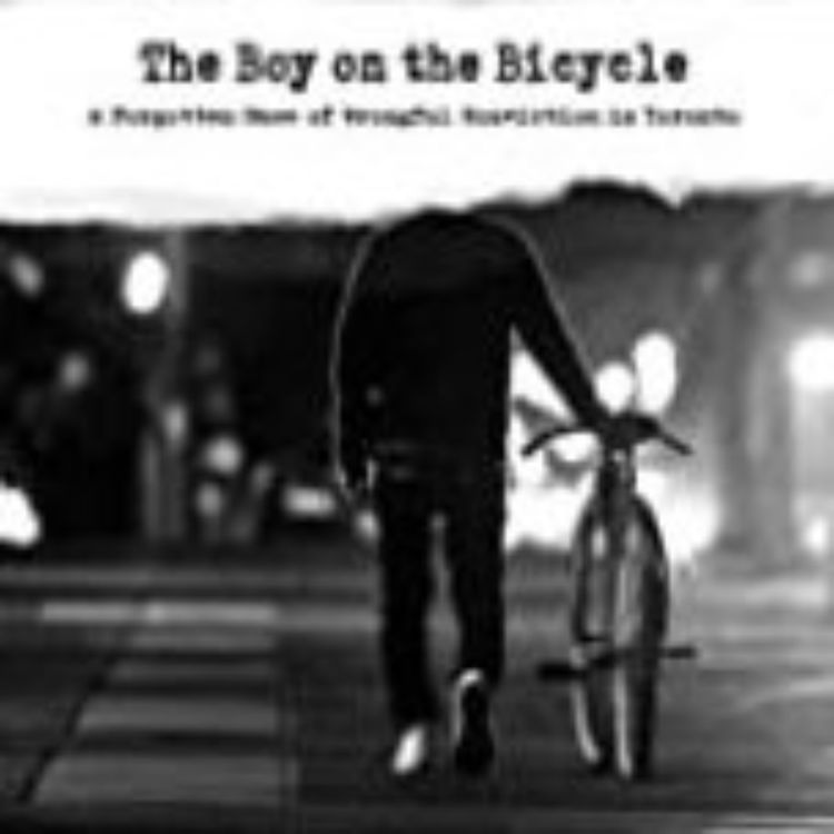 cover art for THE BOY ON THE BICYCLE - NATE HENDLEY