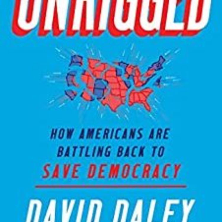 cover art for DAVID DALEY - UNRIGGED- HOW AMERICANS ARE BATTLING TO SAVE DEMOCRACY