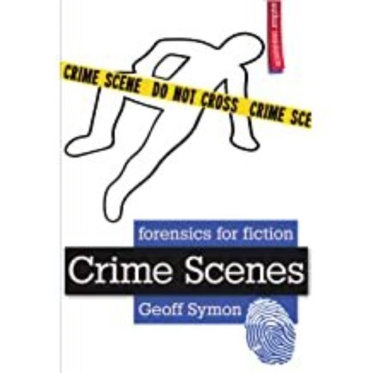cover art for GEOFF SYMON - FORENSICS FOR FICTION