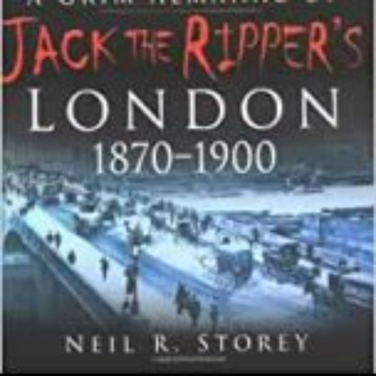 cover art for NEIL R. STOREY - JACK THE RIPPER