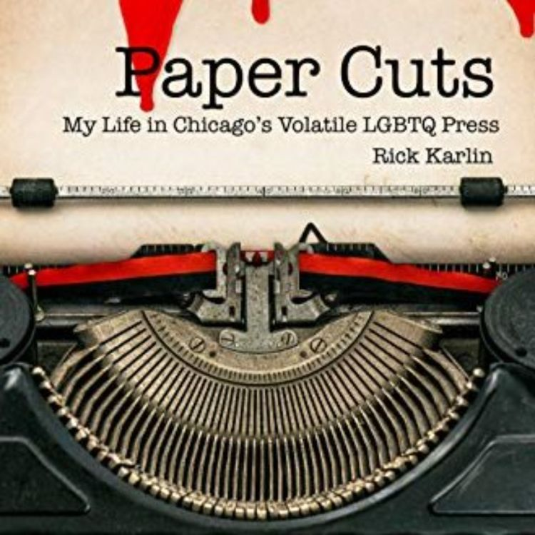 cover art for PAPER CUTS - RICK KARLIN