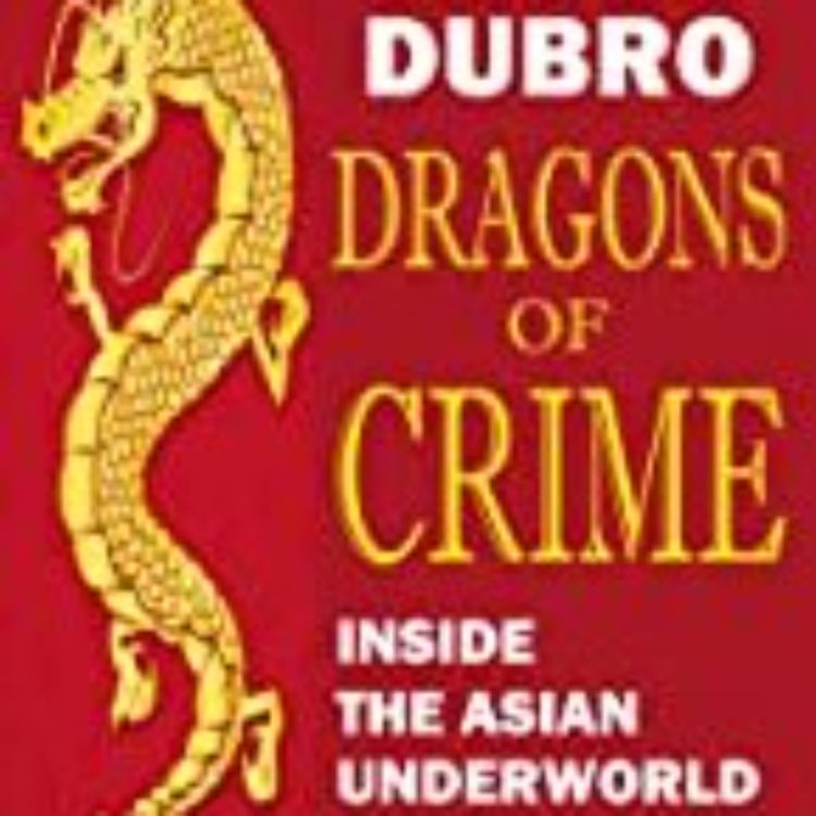 cover art for DRAGONS OF CRIME - JAMES DUBRO