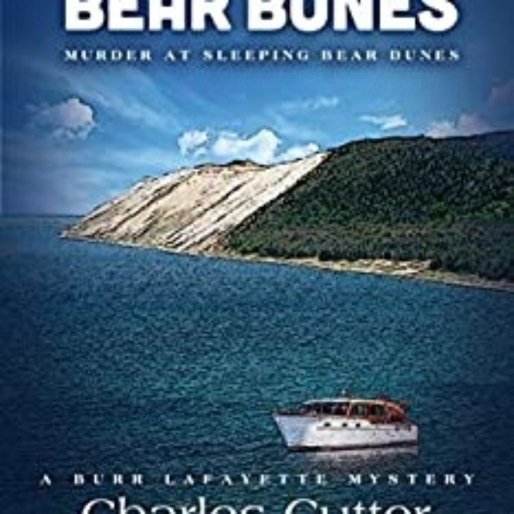 cover art for CHARLES CUTTER - BEAR BONES MURDER AT SLEEPING BEAR DUNES