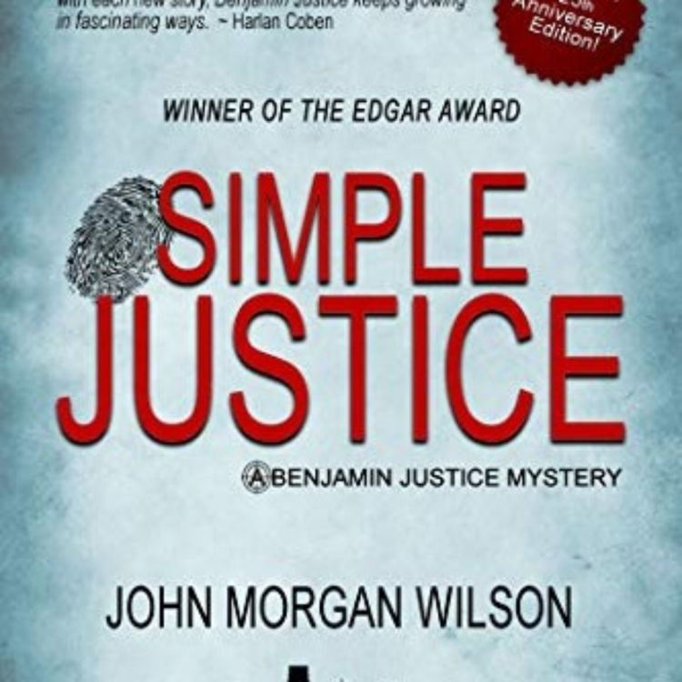 cover art for JOHN MORGAN WILSON - SIMPLE JUSTICE