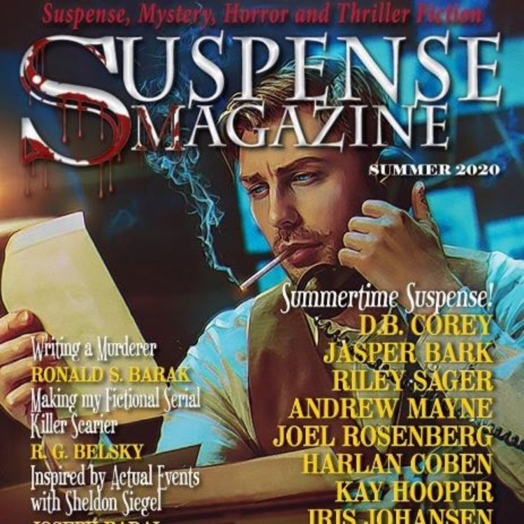 cover art for JOHN RAAB - SUSPENSE MAGAZINE