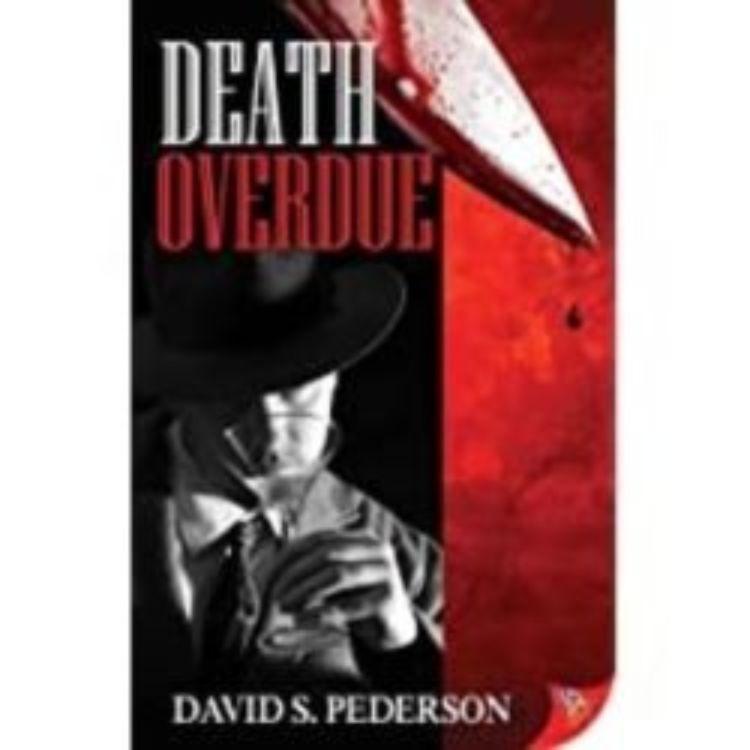 cover art for DEATH OVERDUE - DAVID S. PEDERSON
