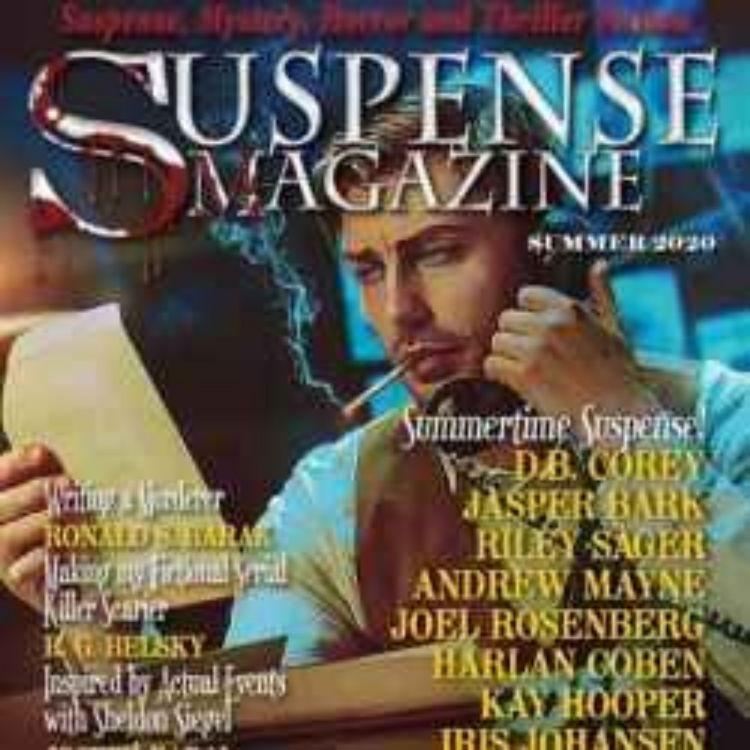 cover art for SUSPENSE MAGAZINE - JOHN RAAB