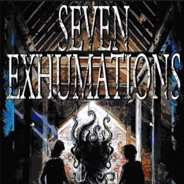 cover art for JAMES G. CARLSON - SEVEN EXHUMATIONS