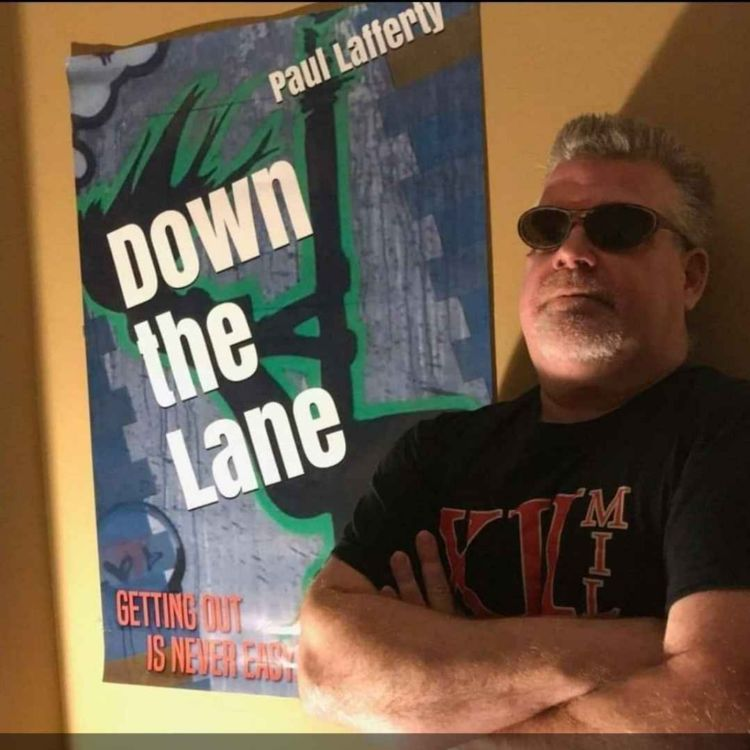 cover art for PAUL LAFFERTY - DOWN THE LANE