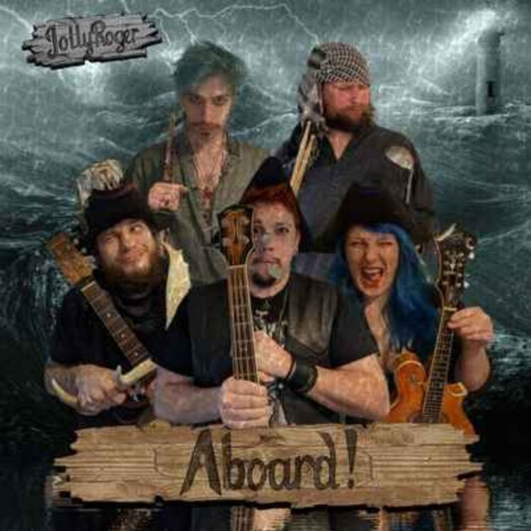 cover art for Jolly Roger Pirate Band UK
