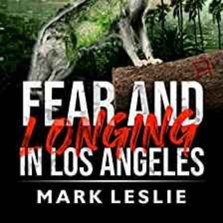 cover art for Mark Leslie - Fear and Longing in Los Angeles