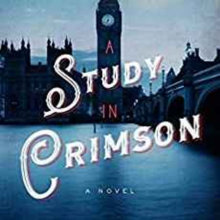 cover art for Robert Harris - A Study in Crimson: Sherlock Holmes 1942