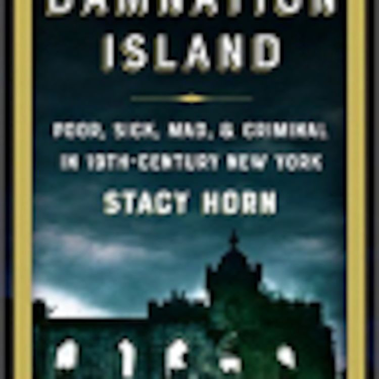 cover art for Damnation Island with Stacy Horn