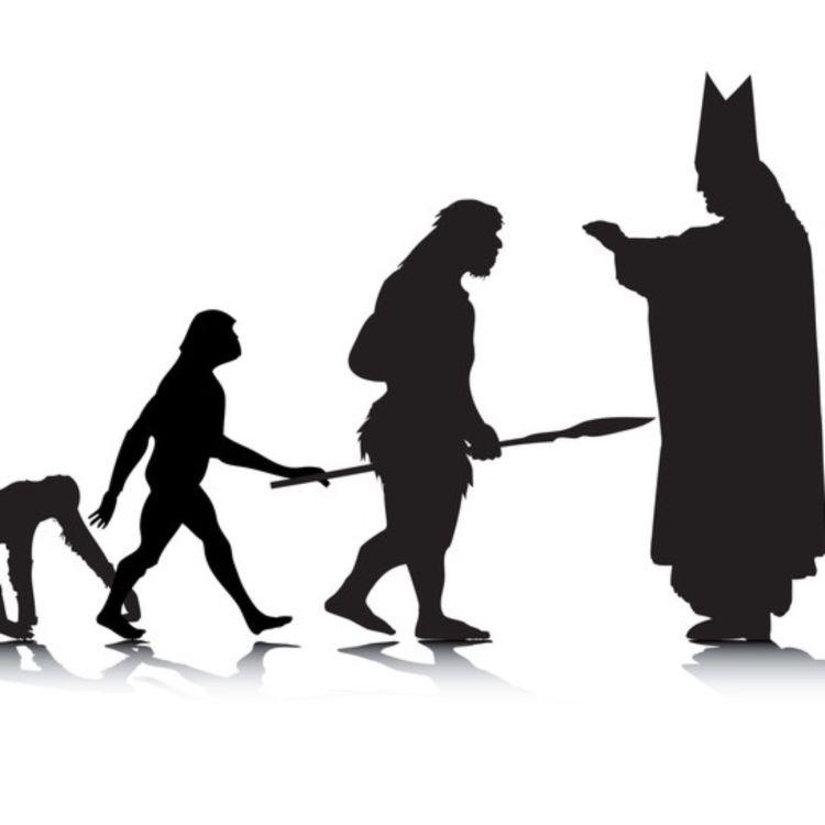 cover art for #209 - Krangling om Evolusjon og Intelligent Design