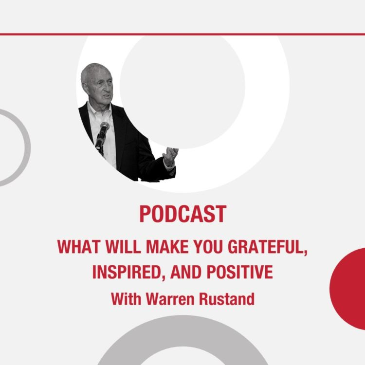 cover art for What Will Make You Grateful, Inspired, And Positive