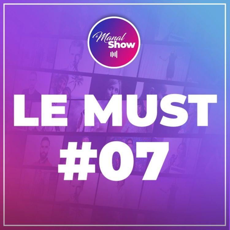 cover art for LE MUST #07 - L'HYPOCRISiE DES GENS SE RÉVÈLE DANS LES ÉPREUVES DIFFICILES / OUSSAMA AMMAR