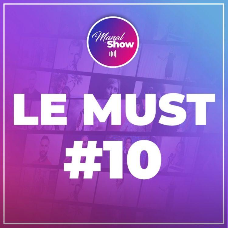 cover art for LE MUST #10 -  PARLER LIBREMENT D'ARGENT QUITTE À BOUSCULER LES MENTALITÉS / CHRIS KAPONGO